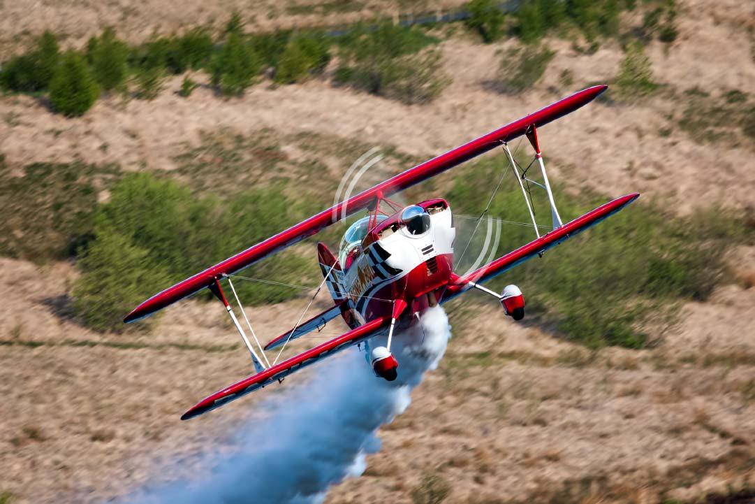 A Christen Eagle II sport aircraft