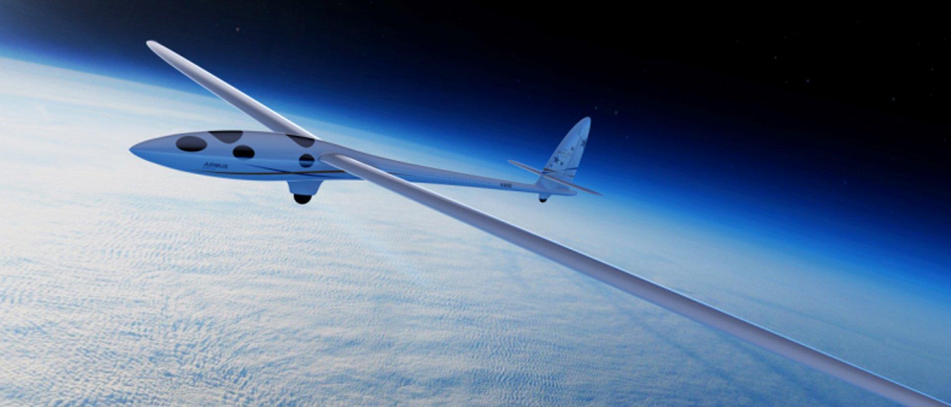 The Perlan 2 glider